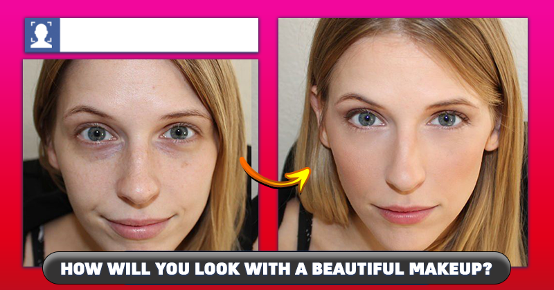 How will you look with a beautiful makeup?