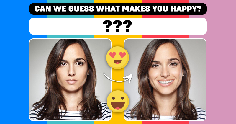 can we guess what makes you happy based on your face