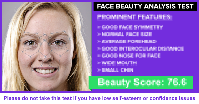 Face Beauty Analysis Test