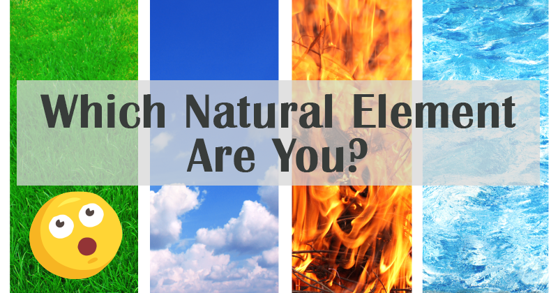 What Natural Element  You Are According To Your Beauty