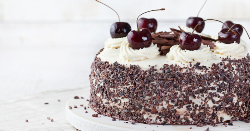 Delicious Black Forest Cake Recipe!